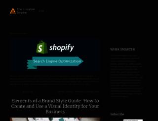 thecreativeempire.net screenshot
