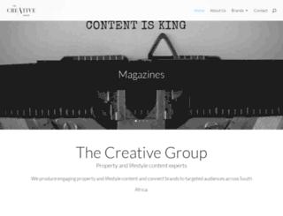 thecreativegroup.info screenshot