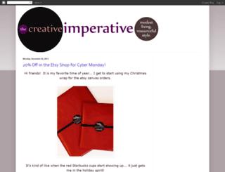thecreativeimperative.blogspot.com screenshot