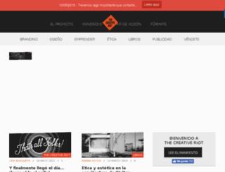thecreativeriot.com screenshot