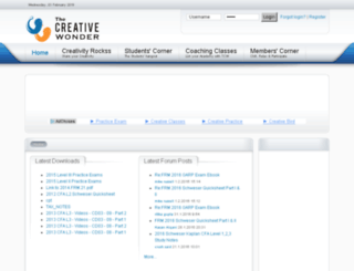 thecreativewonder.com screenshot