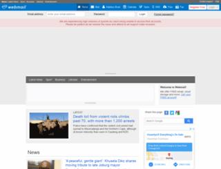 thecricket.co.za screenshot