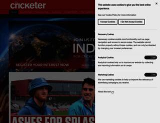 thecricketer.com screenshot