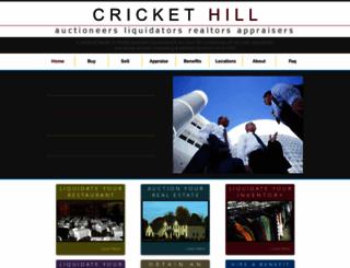 thecrickethillcompany.com screenshot