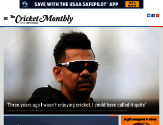 thecricketmonthly.com screenshot