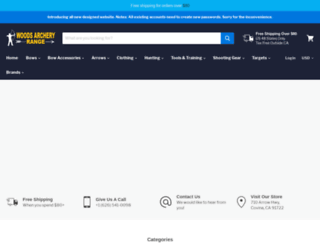 thecrossbowstore.com screenshot