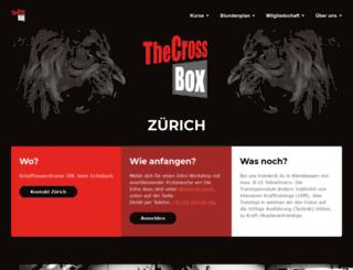 thecrossbox.ch screenshot