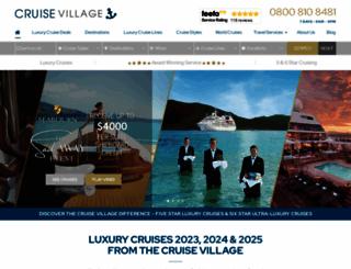 thecruisevillage.com screenshot