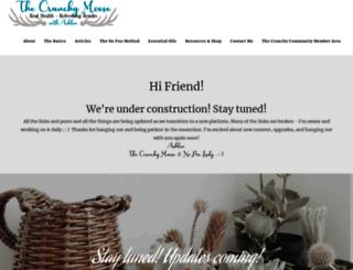 thecrunchymoose.com screenshot