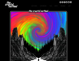 thecrystalmethod.com screenshot