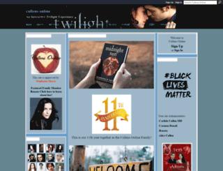 thecullensonline.ning.com screenshot