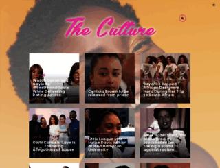 theculture.forharriet.com screenshot