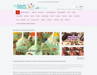 thecupcakedelivers.com screenshot