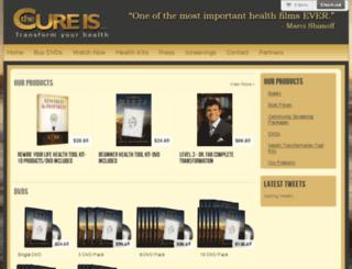 thecureismovie.myshopify.com screenshot