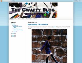 thecwaftyblog.blogspot.com screenshot