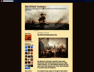 thecynicaltendency.blogspot.com screenshot