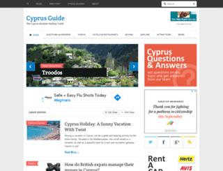 thecyprusguide.net screenshot