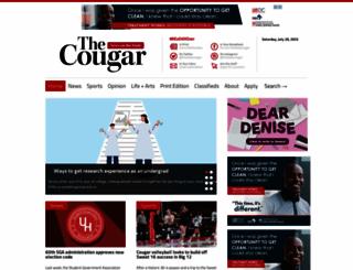 thedailycougar.com screenshot