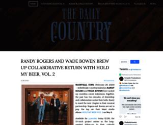 thedailycountry.com screenshot
