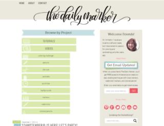 thedailymarker.com screenshot