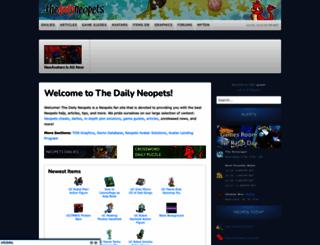 thedailyneopets.com screenshot