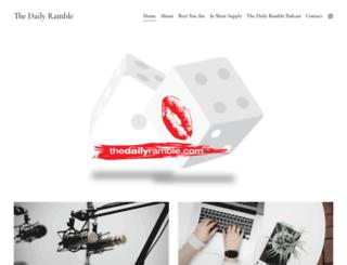 thedailyramble.com screenshot