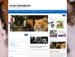 thedailyscratchingpost.com screenshot