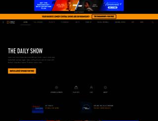 thedailyshow.com screenshot
