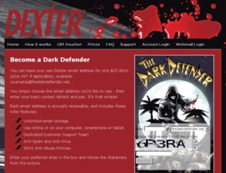 thedarkdefender.net screenshot