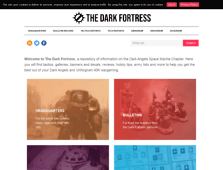 thedarkfortress.co.uk screenshot