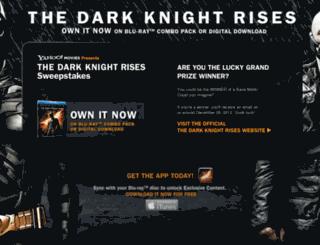 thedarkknightrisessweeps.com screenshot