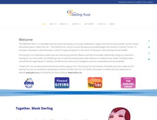 thedarlingtrust.org screenshot