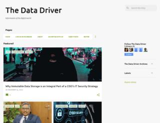 thedatadriver.com screenshot
