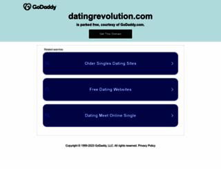 thedatingrevolution.com screenshot