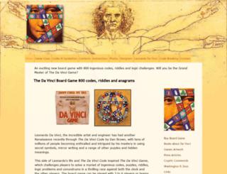thedavincigame.com screenshot