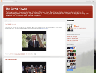 thedawghowse.blogspot.com screenshot