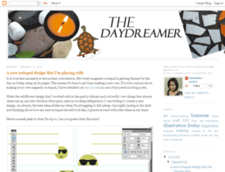 thedaydreamer.in screenshot