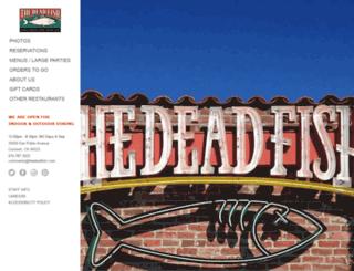thedeadfish.com screenshot