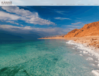 thedeadsea.com screenshot