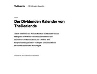 thedealer.de screenshot
