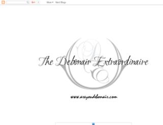 thedebonairextraordinaire.blogspot.com screenshot