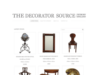 thedecoratorsource.co.uk screenshot