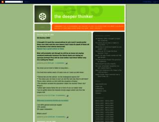 thedeeperthinker.blogspot.fr screenshot