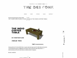 thedesignconfidential.com screenshot