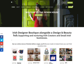 thedesignhouse.ie screenshot
