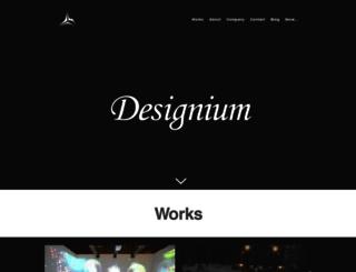thedesignium.com screenshot