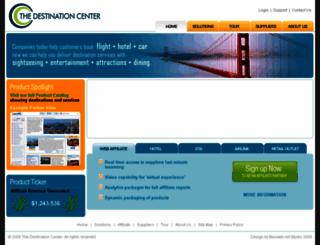 thedestinationcenter.com screenshot
