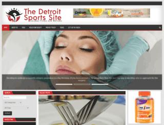 thedetroitsportssite.com screenshot