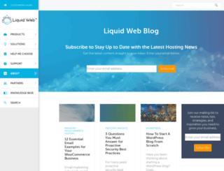 thedevblog.liquidweb.com screenshot