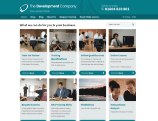 thedevco.com screenshot